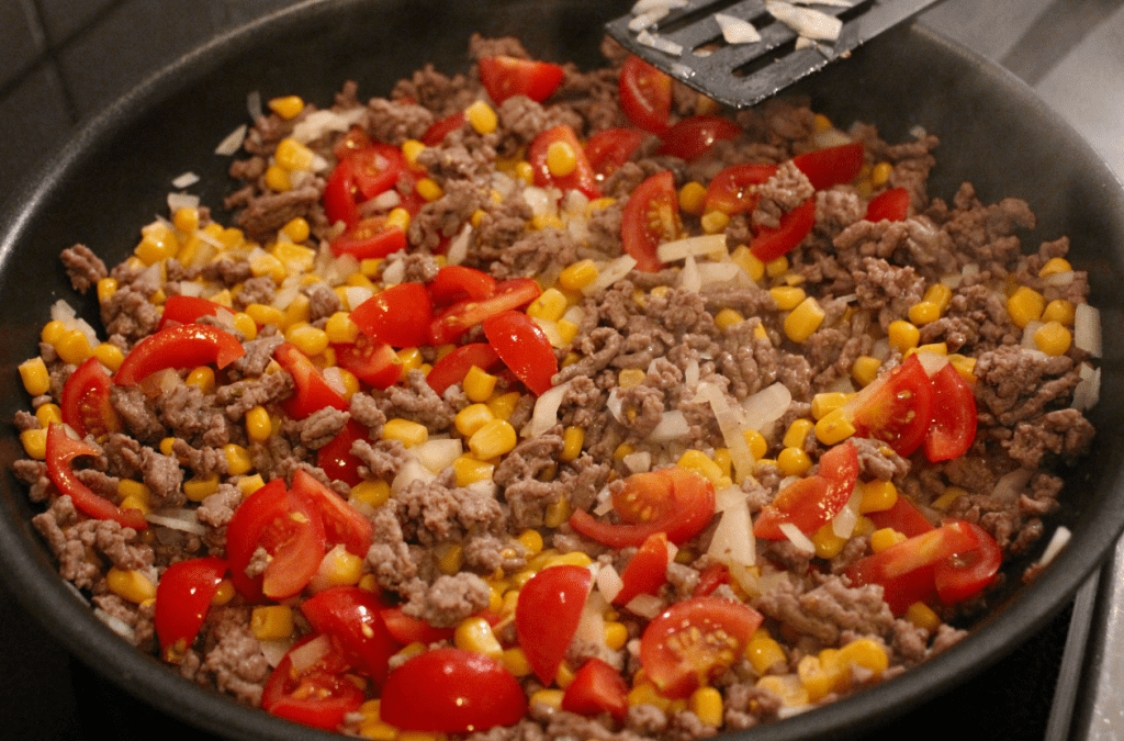 Tacopai - stek fyll