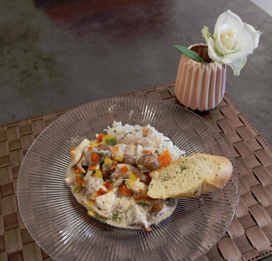 Kyllinggryte - servert