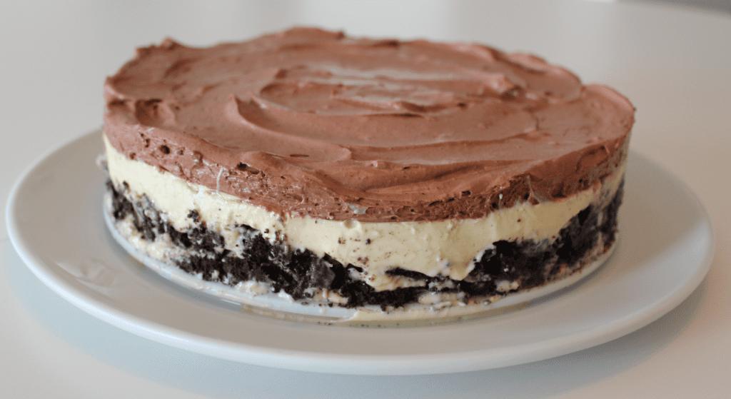 Panna cotta kake - fjerne springform