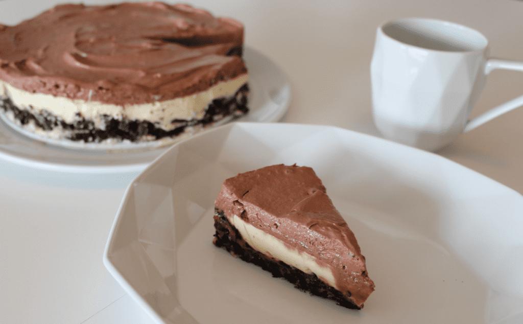 Panna cotta kake - ferdig