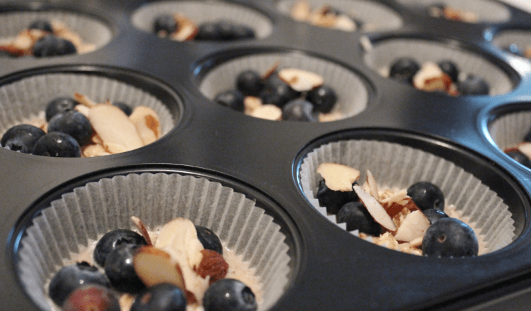 Sunne Muffins - Fyll formen