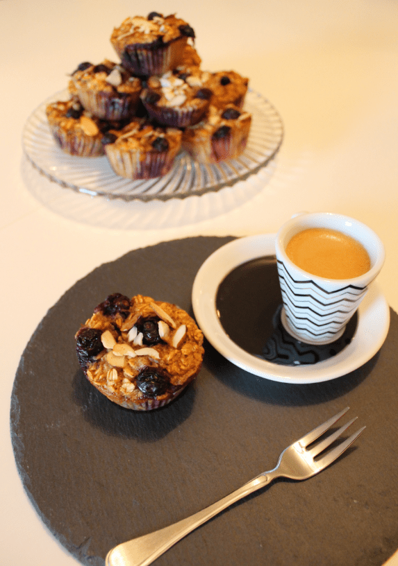 Sunne Muffins - Servering