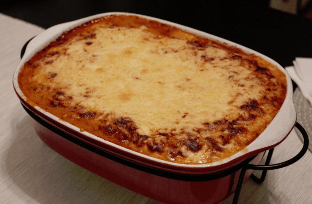 Lasagne - ferdig