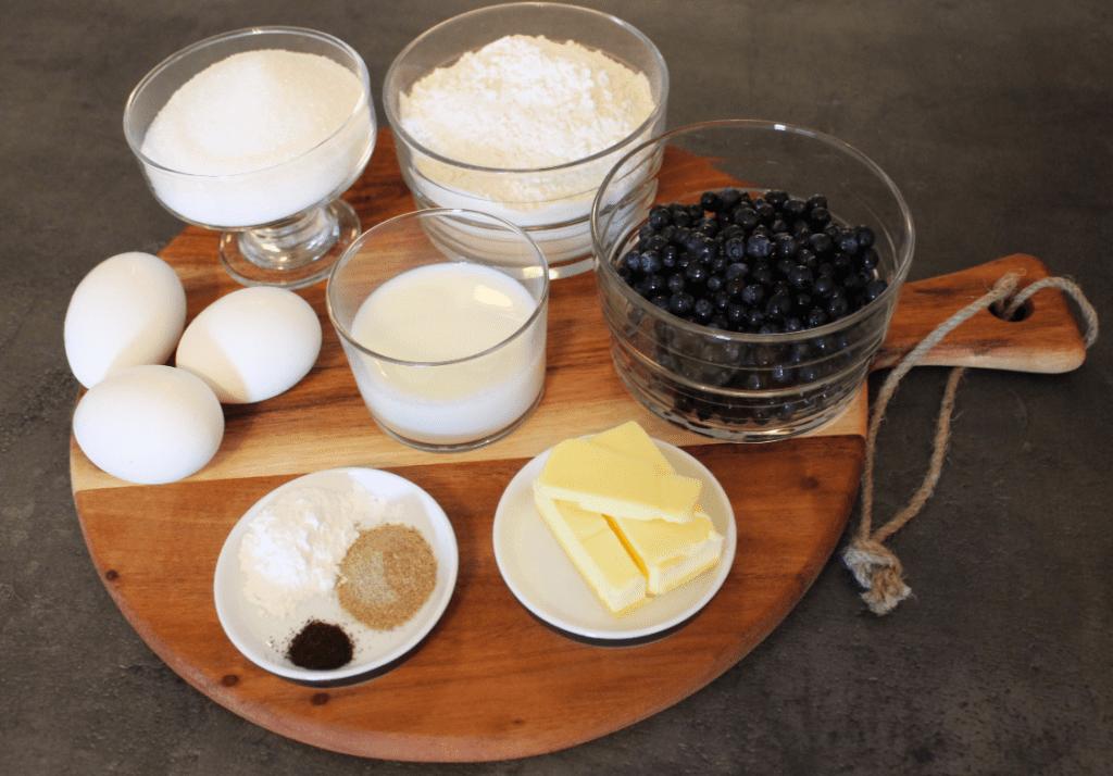 Muffins - ingredienser