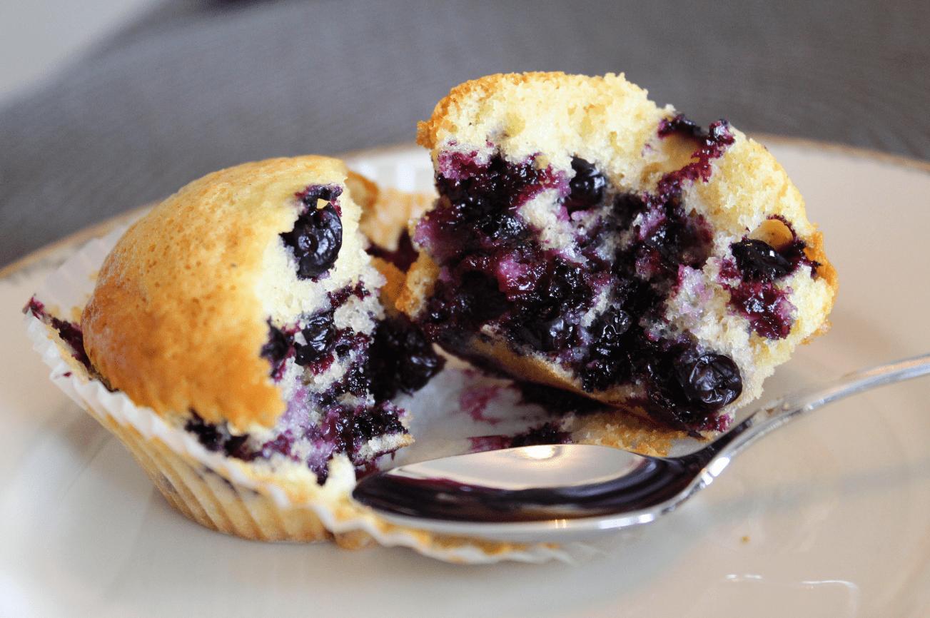 Muffins - servert