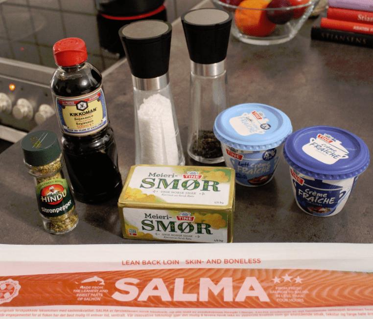Laks ingredienser