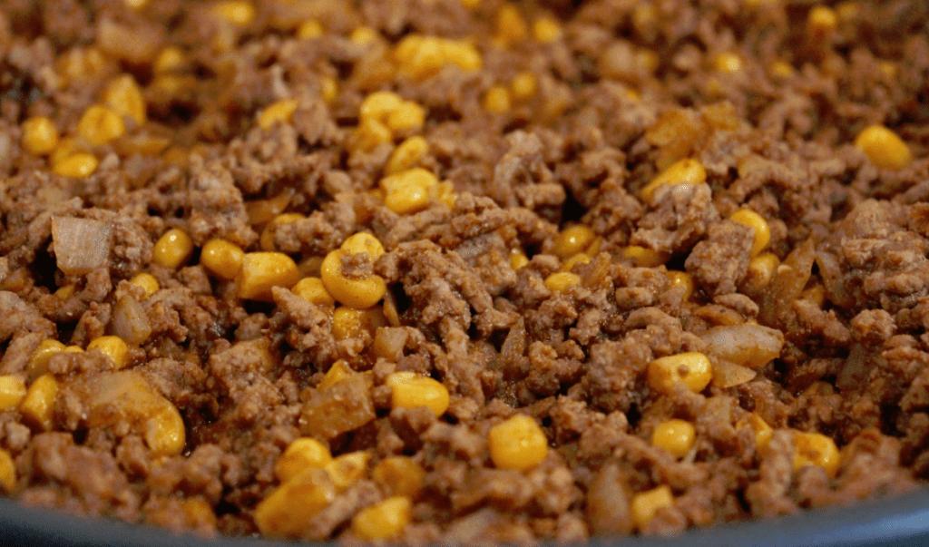 Tacohorn - lage fyll