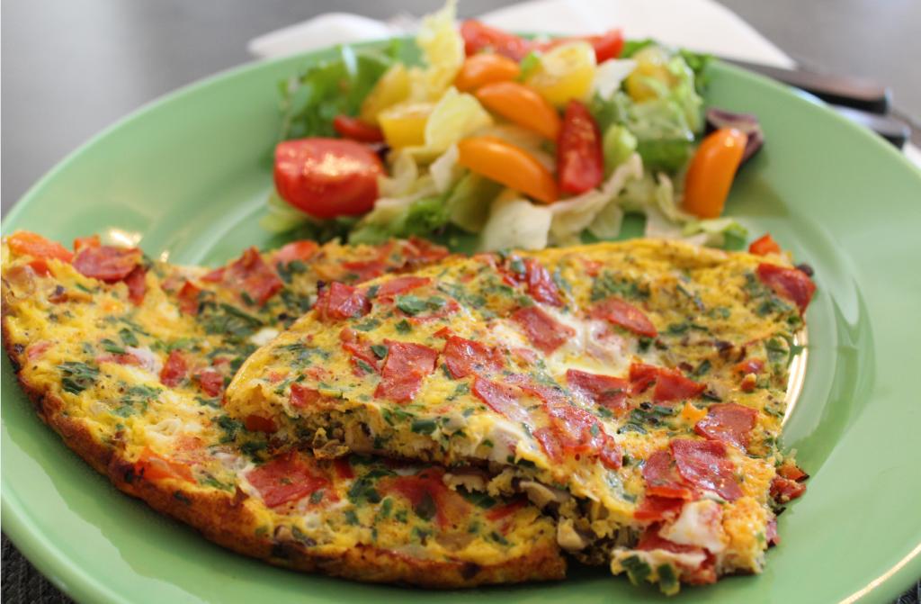 Omelett - klar til å spises