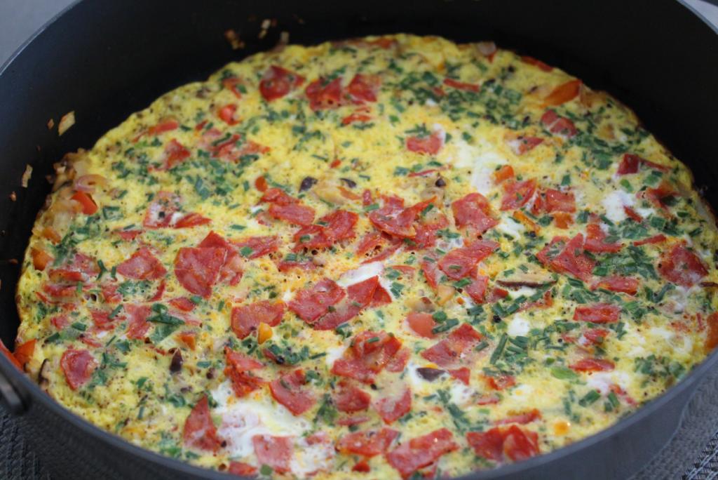Omelett - i panna