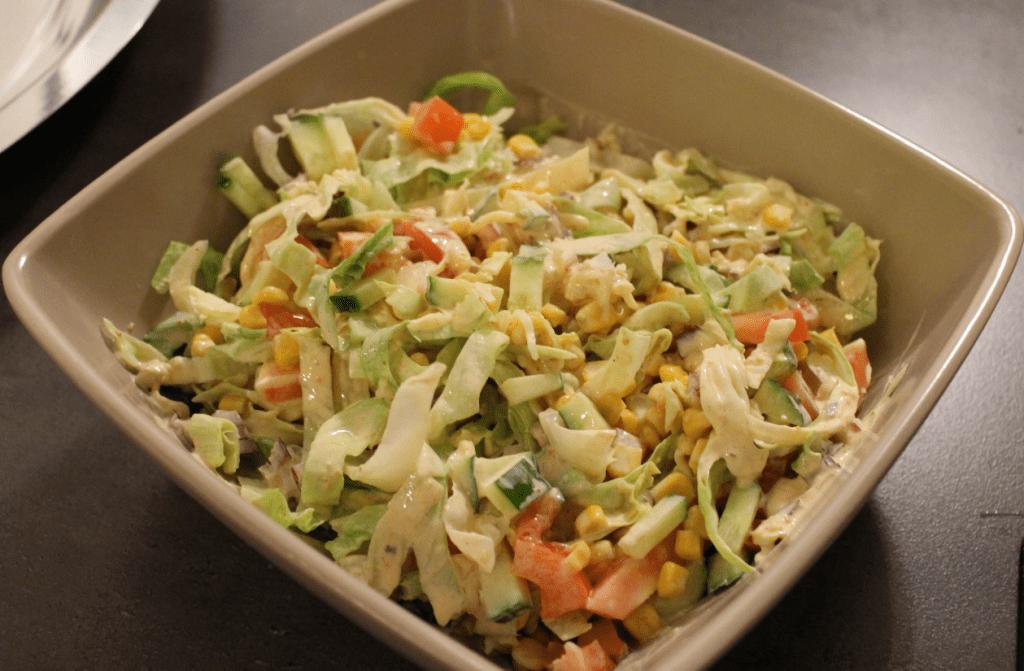 Tacosalat blande grønnsaker