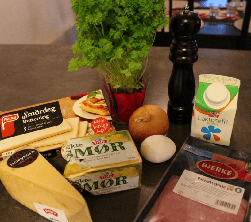 Fylt butterdeig - ingredienser