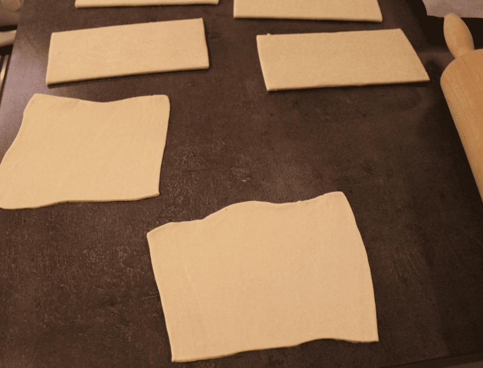 Fylt butterdeig - butterdeigsplater