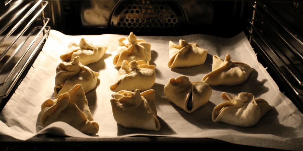 Fylt butterdeig - stek