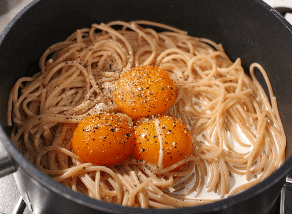 Pasta carbonara - saus