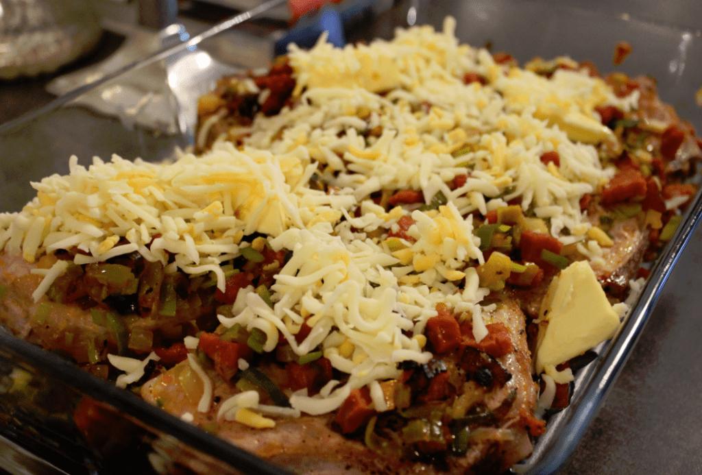 Koteletter - inn i ovnen