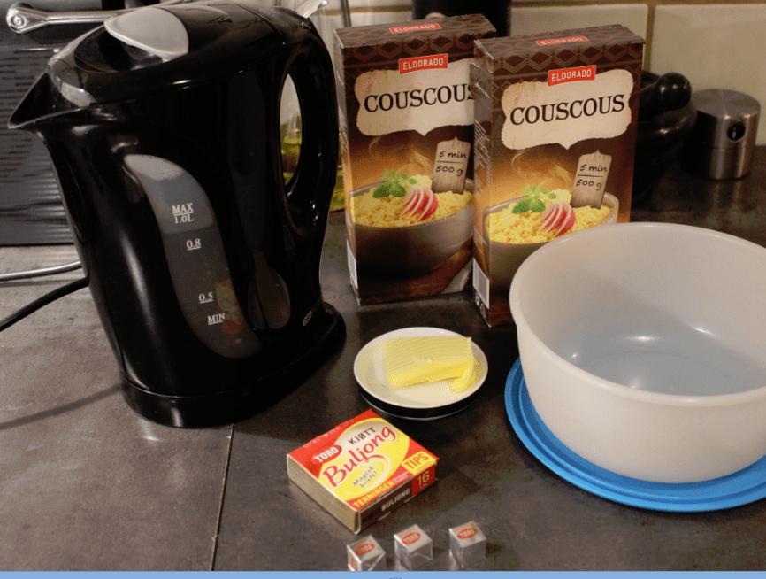 Koteletter - couscous