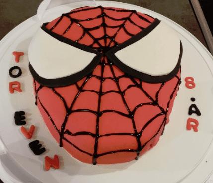 spiderman kake