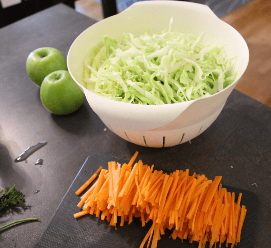 Coleslaw - strimle fint