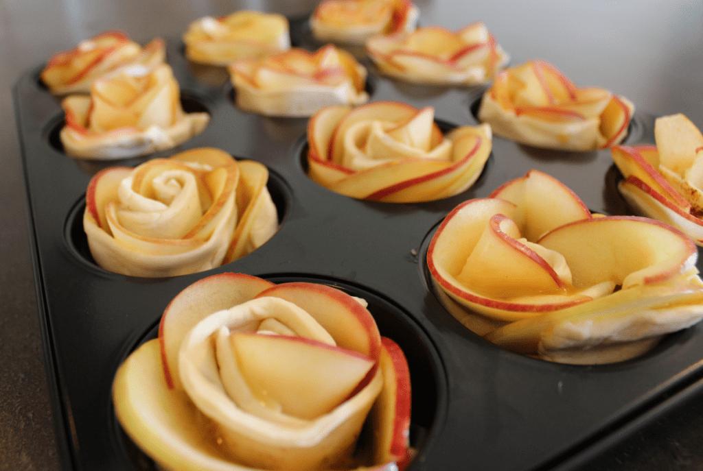 Epleroser - stek i ovn