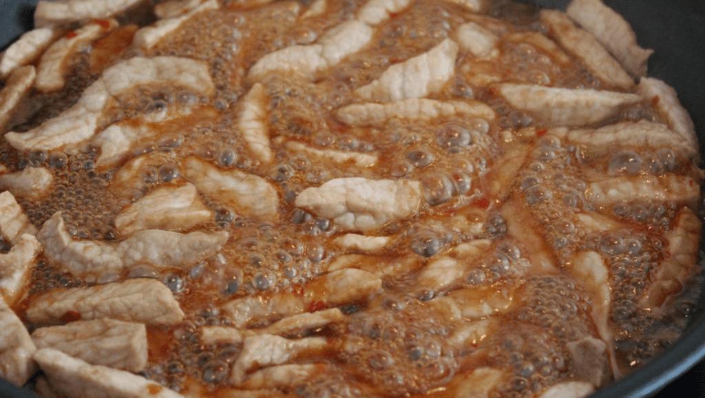 Wok - stek kjøtt