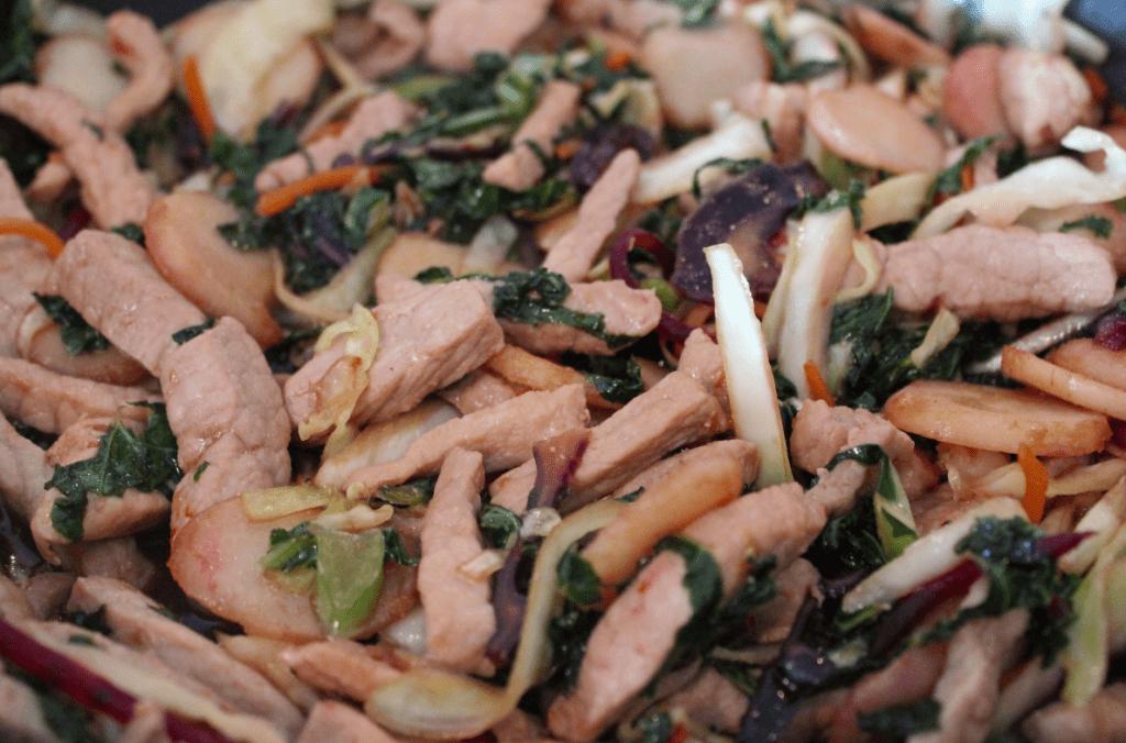 Wok - stek grønnsaker