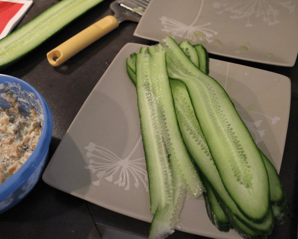 Laks - agurk