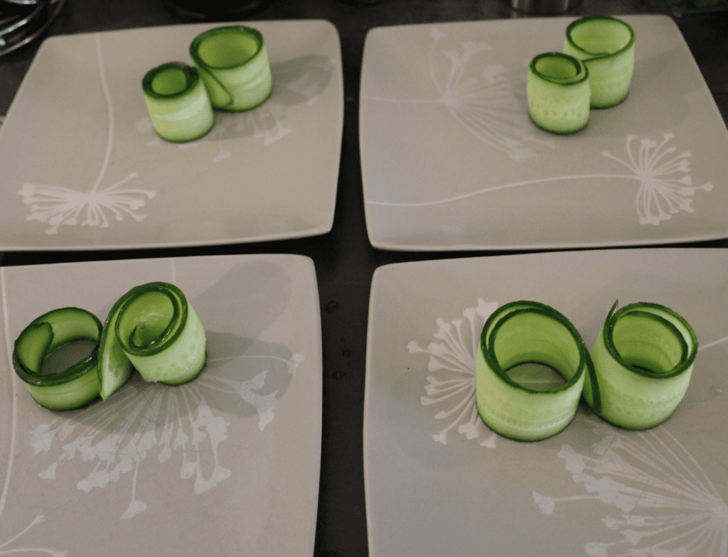 Laks - agurkskiver