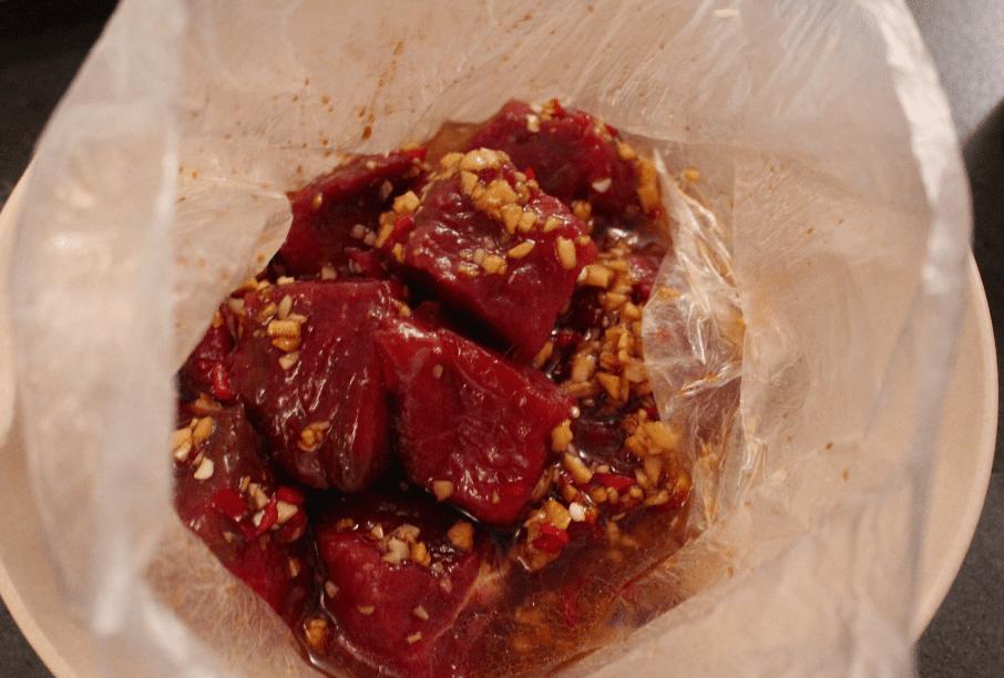 Thai biff - marinade