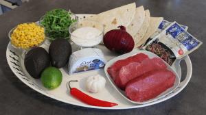 Fajitas - ingredienser